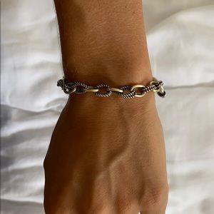 Phillip Gabriel 18k and Silver Bracelet